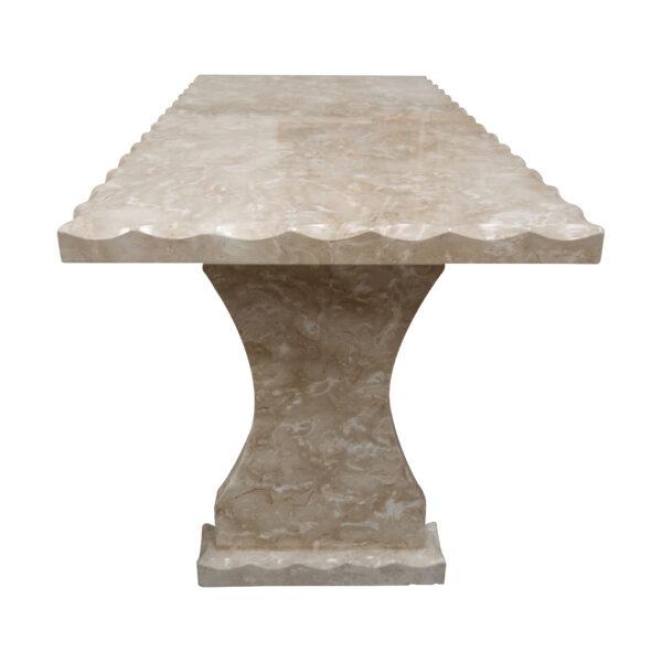 Light grey Limestone Table, TA-020, 1