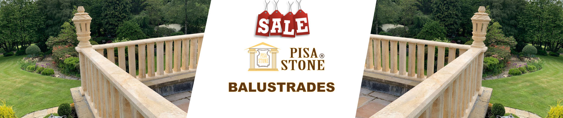 Balustrades by Pisastone® Balusters