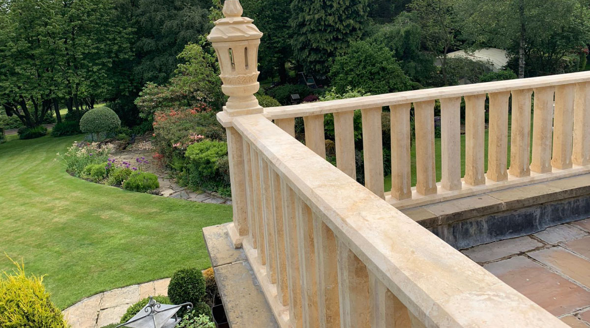 Balustrades-by-Pisastone® | Natural Stone Supplier