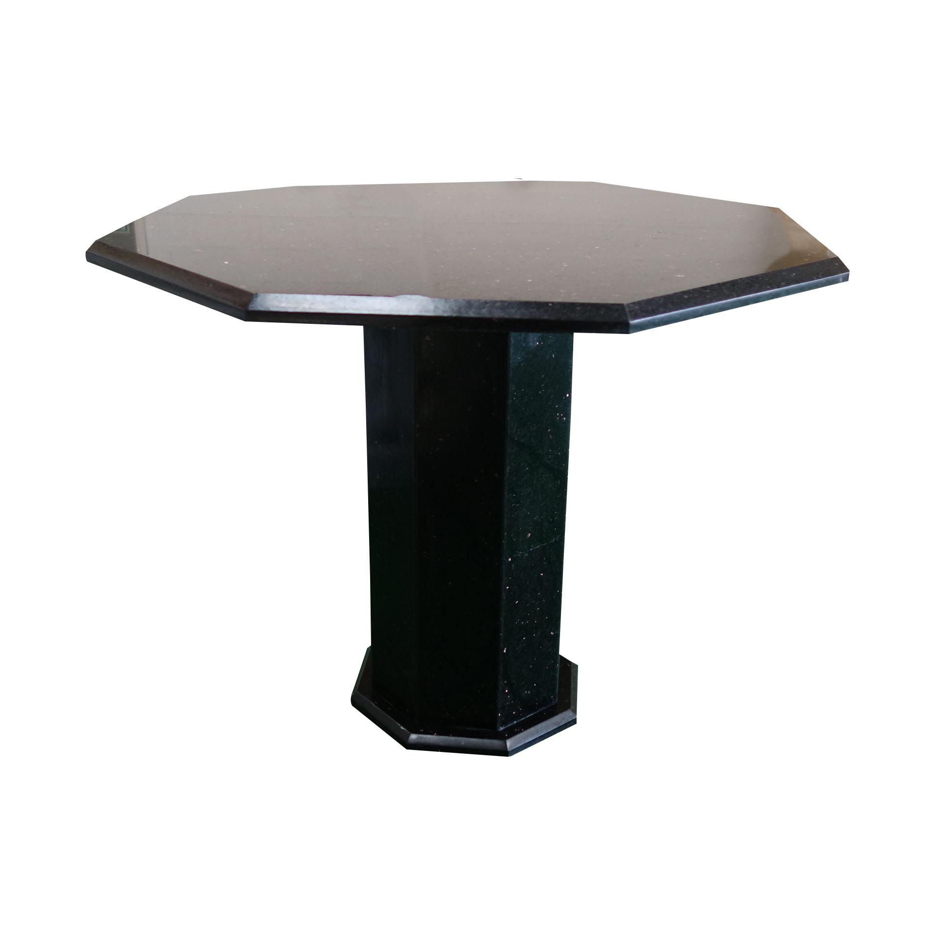 Black Galaxy Granite Coffee Table