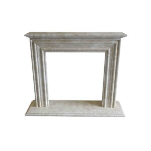 Crema Marfil Fireplace surround 1